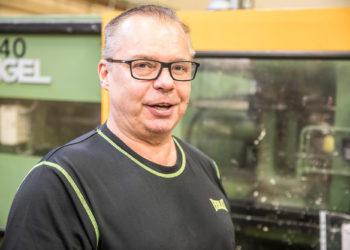 Hi Tech Polymersin hallituksen puheenjohtaja Aulis Kulmala on toiminut kumi- ja muovialalla 43 vuotta.