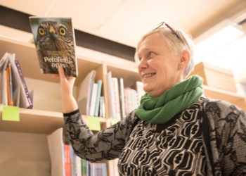 Kirjastonjohtaja Sari Sillanpää haluaa uudistaa kirjaston toimintatavat ja toimitilat. Kirjastonjohtajan haave on saada kirjat ja muut lainattavat materiaalit lennätettyä asiakkaille lennokein. Vielä eivät kuitenkaan lennä edes lintukirjat.