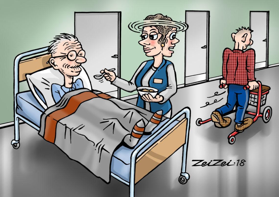 Osassa hoivakoteja henkilökuntaa on aivan liian vähän. Lisäksi hoitohenkilökunnalla teetetään runsaasti muuta kuin hoitotyötä.