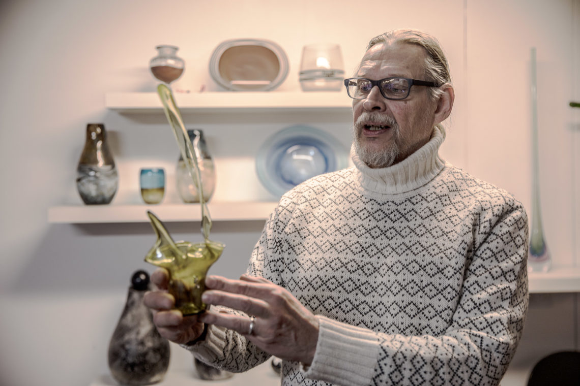 Jan Torstensson väittää olevansa tanssiva ihmissyöjän jälkeläinen.