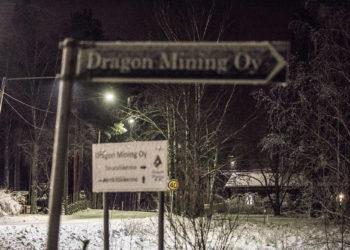 Dragon Mining Oy:llä on maata Stormissa entisen nikkelikaivoksen kaivospiirin alueella runsaat 1,5 neliökilometriä.