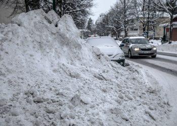 Lunta voi olla aivan liikaakin. Aihekuva.