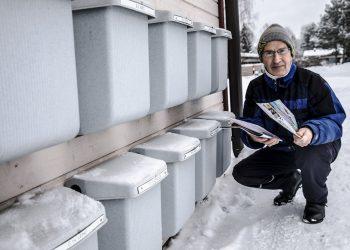 Ari Räsänen ihmettelee, ollaanko Postissa huolimattomia vai mistä on kyse, kun tavallinen kirjeposti ei löydä vastaanottajaansa.