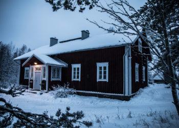 Kiikan Vähähaaran idyllinen kotiseututalo.