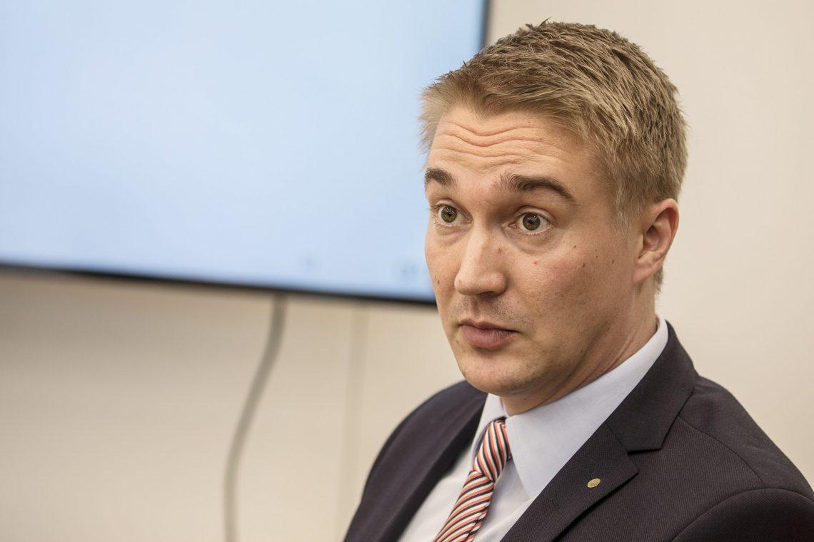 Toimitusjohtaja Janne Pohjolainen on huolissaan Vammalan vähäisestä asuntorakentamisesta.