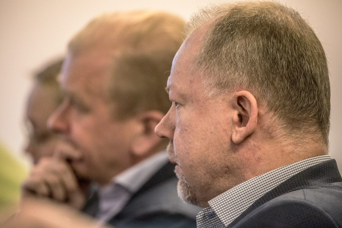 Jari Moisio ja Jukka Pusa kehuivat muiden yrittäjien tapaan varsin estoitta kaupungin toimintaa.