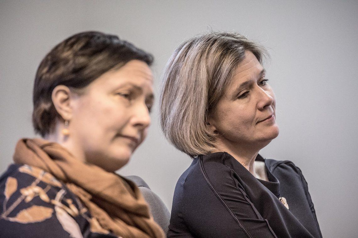 Tanja Aarnikuru hoitaa ison osan elinkeinojohtajan tehtävistä Ursula Lumpeen lähdön jälkeen.