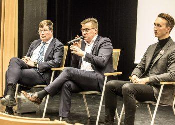 Arto Satonen, Pertti Hakanen ja Ilmari Nurminen.