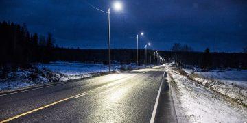Ketolan suora Sastamalassa valtatiellä 12 valaistiin keväällä kaksi vuotta sitten.