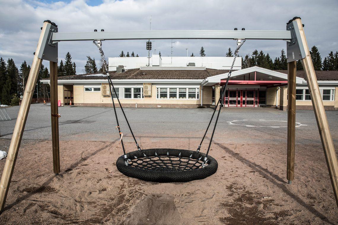 Palveluverkkoselvityksessä etäisyyksiä Tiisalaan on laskettu muun muassa Toukolan koululta.