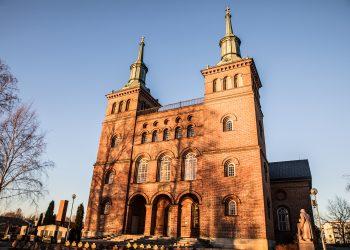 Pyhän Olavin kirkko.