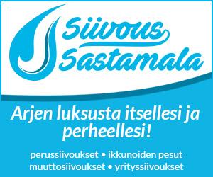 Siivous Sastamala