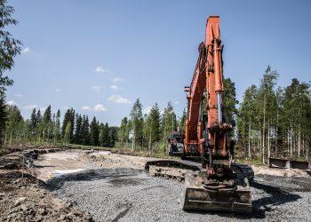 Vaikka rakentamisen on ennustettu vähenevän, näyttää rakentaminen jatkuvan vilkkaan ainakin Nokialla ja Häijäässä.