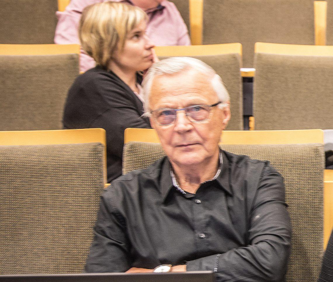 Sosiaali- ja terveyslautakunnan puheenjohtaja Reino Sivonen.
