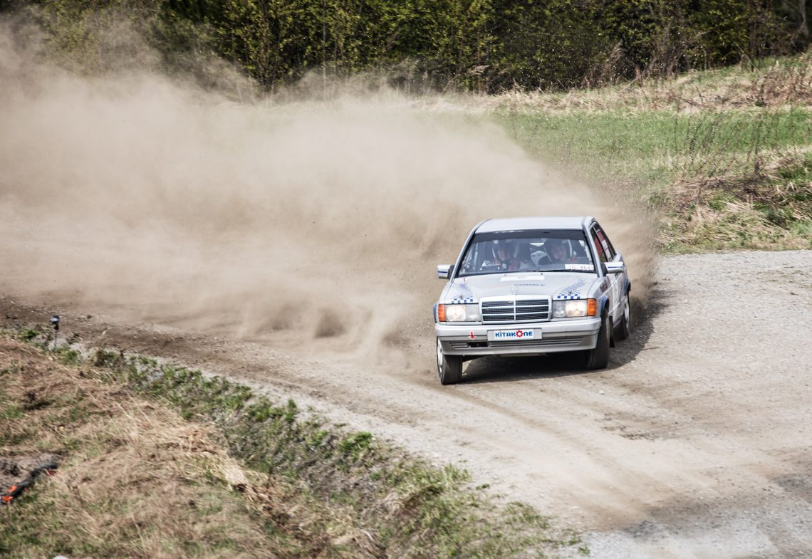 Lauantain rallissa nähdään autoja eri vuosikymmeniltä.