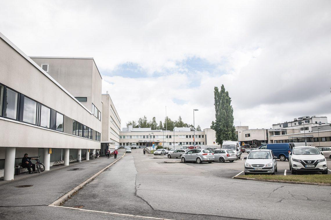 Tays Sastamala ja Sastamalan pääterveysasema.