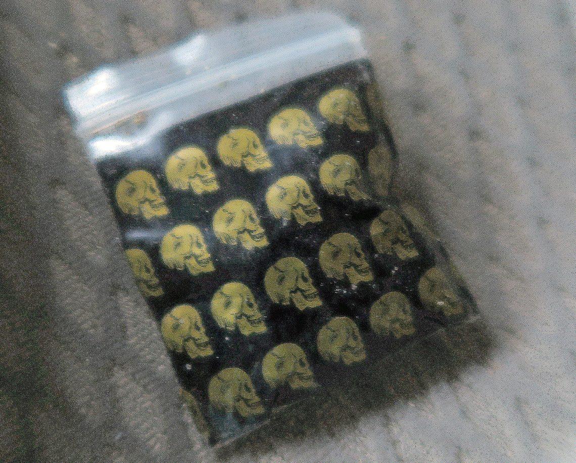 Kannabista myyntipussissa. (Kuva: poliisi)