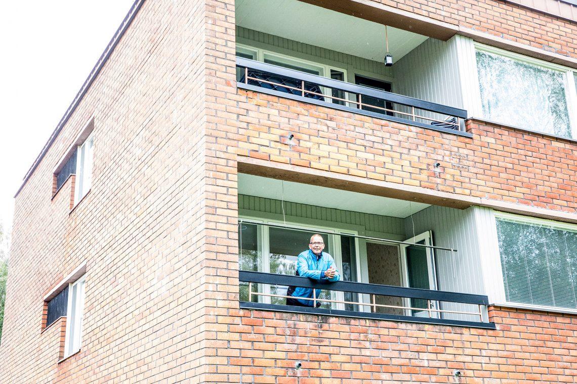 Pentti Vihuri ihmettelee, kun kukaan ei edes kysy kunnon asuntoa hyvin hoidetusta taloyhtiöstä, vaikka hinta on perin vaatimaton.
