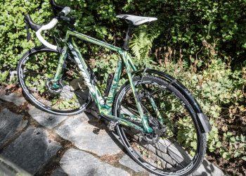 Aihekuva, jossa on Stevens-merkkinen pyörä.