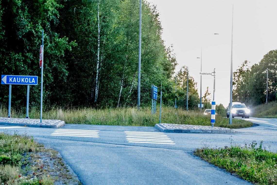 Autolla Vammalasta pääsee Kiikkaan turvallisesti mutta pyöräilijältä vaaditaan vielä rohkeutta.