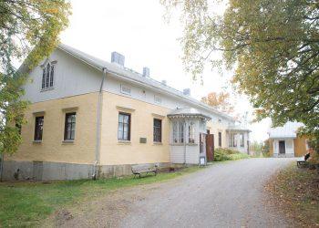 Akseli Gallen-Kallelan lapsuudenkoti. Hän muutti Tyrväälle suurten nälkävuosien jälkeen leikki-ikäisenä.