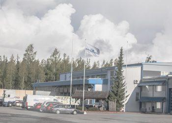 Kaukokiidon Sastamalan terminaali.