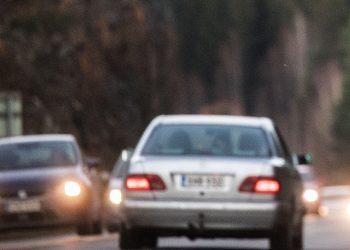 Liikenne ruuhkautuu Tampereella ja Tampereen ympäristössä.
