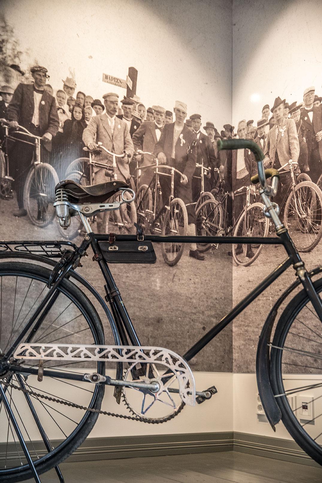 Sastamalan ensimmäinen urheiluseura kokosi yhteen Vammalan pyöräilijät.