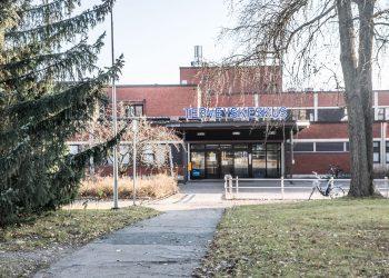 Nykyinen terveyskeskus.