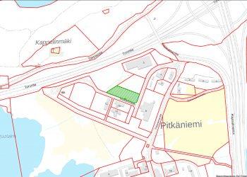 Säätiön ammattiopisto sijoittuu vihreälle alueelle.