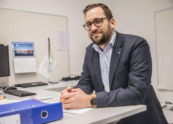 Tekninen johtaja Kimmo Toukoniemi.