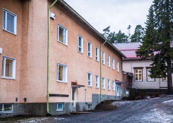 Tyrväänkylän koulu.