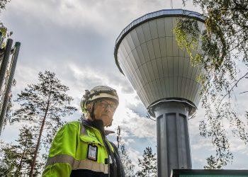 Auvo Ahonen ja 13. torni.