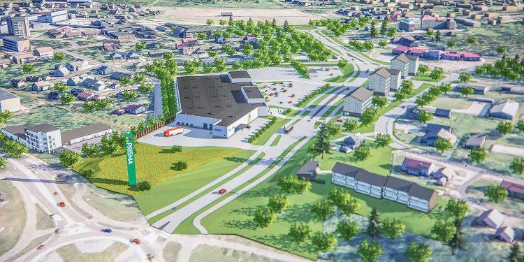 Tänä vuonna rakennettavan Vammalantien jatkeen varteen rakentuva liike- ja asuntoalue kaipaa sen sijainnin yksilöivää paikannimeä.