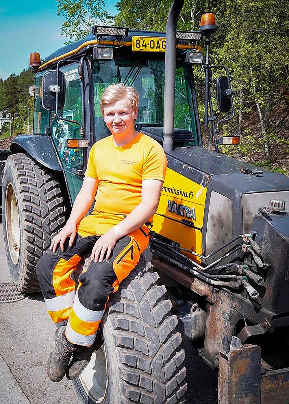 Leevi Lamminsivu on Pirkanmaan nuori yrittäjä.